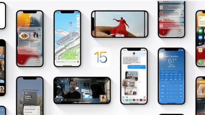 Todas las novedades iOS 15